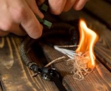 Flame cord или паракорд для выживания