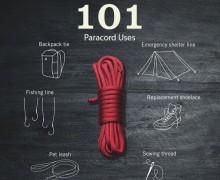 101 способ применения паракорда. Мультифункциональный шнур.