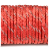 Paracord reflective, red #r3021