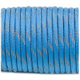 Paracord reflective, ocean blue #r3337
