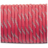 Paracord reflective, Light red #R324