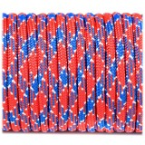 Paracord Type III 550, UK flag #369