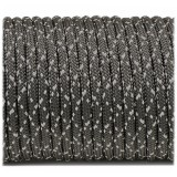 Paracord reflective, starry night #r3228