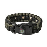 "Браслет ""Кобра"" Survival, Black and Army green"