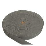 Лента окантовочная, 25 мм, серая полиамидная