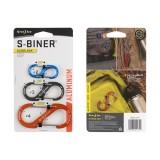 Карабин (алюм.) S-Biner SlideLock, 3 шт.
