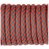Paracord Type III 550, sofit orange ice mint twist #381
