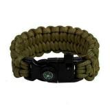 "Браслет ""Петли"" Survival, Army green (S)"