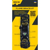 "Браслет ""Двойная кобра"" Flame-Survival Army Green / Black"