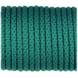 Paracord Type III 550, grey ice mint snake #406
