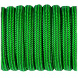 Paracord Type III 550, neon green grey stripe #416