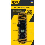 "Браслет ""Двойная кобра"" Flame-Survival, Black / Coyote brown"