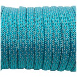 Coreless Paracord, Super-reflective Turqoise Martiix #034