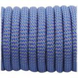 Супер светоотражающий 50/50 , Blue Wave #001