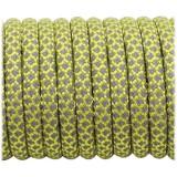 Супер светоотражающий 50/50 , Yellow Snake #019