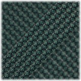 Paracord Type III 550, Dark green snake #440