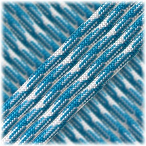 Paracord Type III 550, blue white #074
