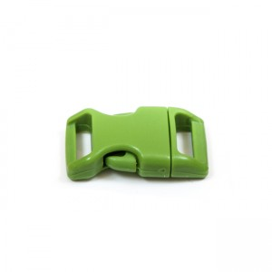 """5/8"""", зеленый, фастекс пластиковый"""