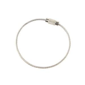 Металлическое кольцо тросик