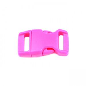 """5/8"""", розовый, фастекс пластиковый"""