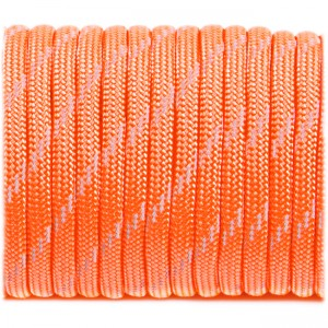Paracord reflective, sofit orange #r3345