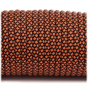 Paracord Type III 550, orange snake #357