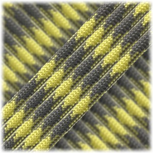 Paracord Type III 550, grey yellow #371