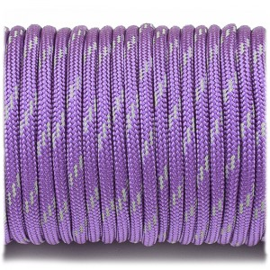 Paracord reflective, purple #r3026