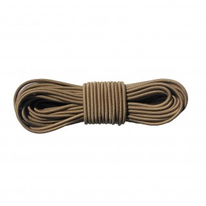 Shock cord (3,6 mm), coyote brown #s012
