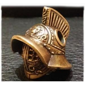 """Бусина """"Шлем Гладиатора"""", ручное литье"""