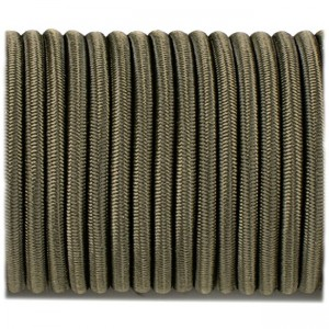 Shock cord (5 mm), army green #s010-5