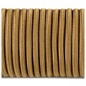 Shock cord (5 mm), coyote brown #s012-5