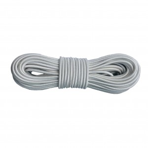 Shock cord (4,2 mm), white #s007-4.2