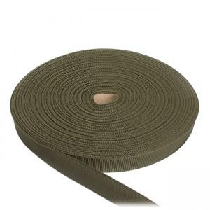 Лента окантовочная, 25 мм, олива полиамидная