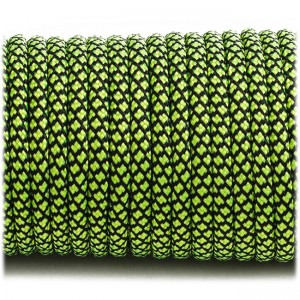 Paracord Type III 550, sofit green snake #091