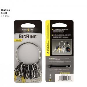 Брелок Bigring S-Biner (нерж.)