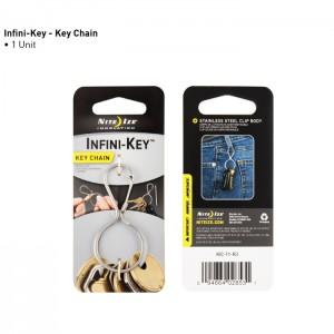 Брелок Infini-Key (нерж.)