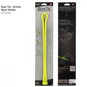 "Хомут Gear Tie Reusable Rubber Twist Tie 32"", 2 шт."