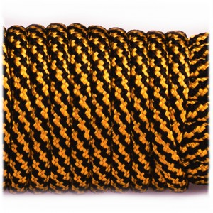 Paracord Type III 550, golden twist #397