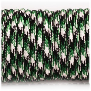 Paracord Type III 550, Pine Forest Camo #399