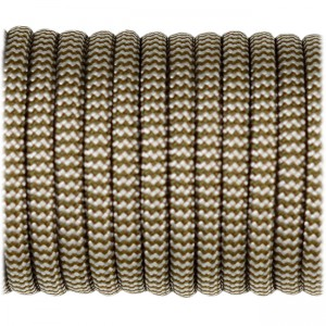 Paracord Type III 550, golf silver wave #405