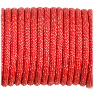 Paracord Type III 550, Fashion red #021