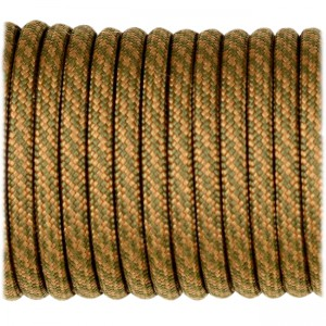 Paracord Type III 550, coyote golf twist #422