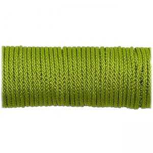 Microcord (1.4 mm), lime #020-1
