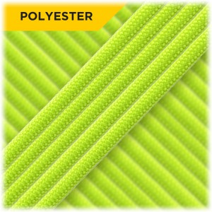 Paracord Type III 550 (PES) Neon green #6127