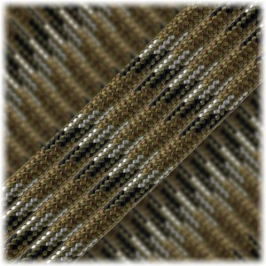 Paracord Type III 550, Wood Camo Mil-Style #439