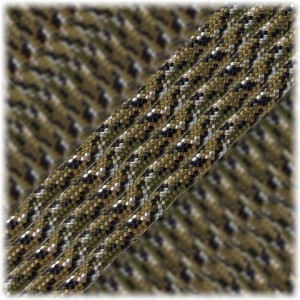 Paracord Type III 550,Woodland Camo #451