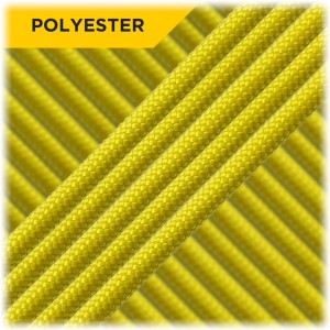 Paracord Type III 550 (PES) Bright yellow #0246