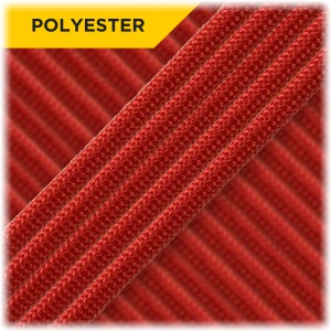 Paracord Type III 550 (PES) Scarlet #6016