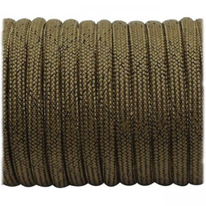 Paracord Type III 550,Dirty Chocolate #dt178